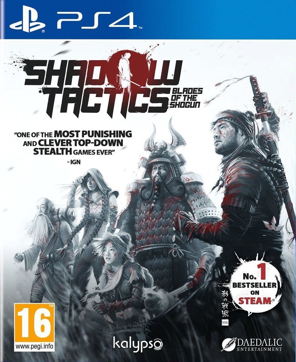Shadow Tactics: Blades Of The Shogun PL (PS4)